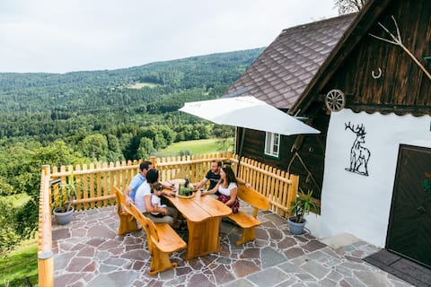 Conny house St. Oswald ob Eibiswald with whirlpool, terrace and barbecue, child friendly
