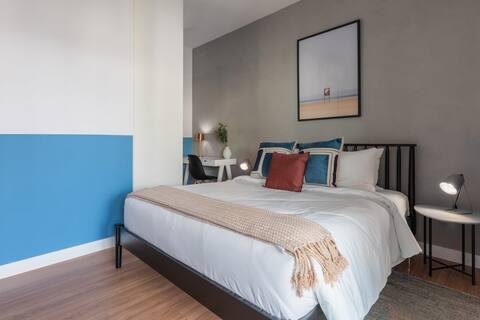 Apartamento com vista panorâmica e garagem | Vila Olímpia