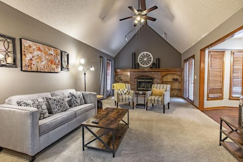 ❤❤Suburban Farmhouse ❤4 Beds❤Fully Equipped Garage Parking❤❤!