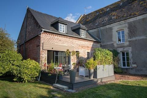 Le Bout du L - maison de famille en pleine nature à 2h00 de Paris