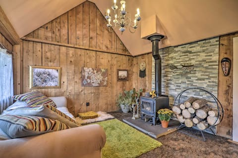 'Vein of Gold:' Off-the-Grid Historic Ward Cabin!
