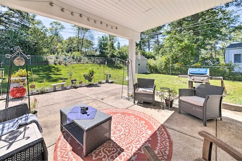 NEW! Pet-Friendly St Louis Home w/ Private Yard!