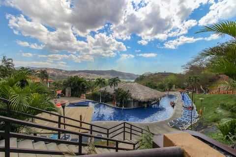 Sunny Villa w/ Oceanview, Shared Pools, Central A/C, & Private Beach Access!