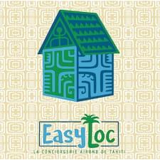 EasyLoc felhasználói profilja