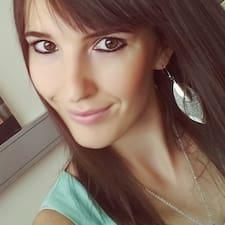 Marija felhasználói profilja