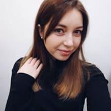 Yulia的用戶個人資料