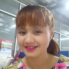 Lan Anh felhasználói profilja