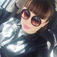 Albina felhasználói profilja