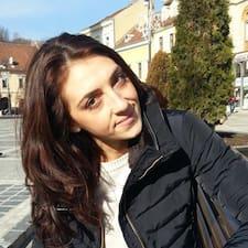 Profil utilisateur de Madalina