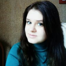 Henkilön Anastasia käyttäjäprofiili