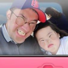 SeongHo felhasználói profilja