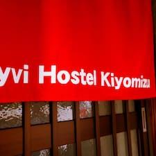 Gebruikersprofiel Ryvi Hostel Kiyomizu