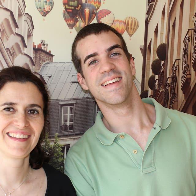 Gebruikersprofiel Henrique&Isabel