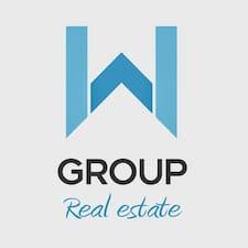 Henkilön GROUP W Real Estate käyttäjäprofiili