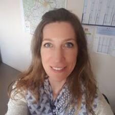 Gisèle felhasználói profilja