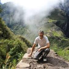 Juan Pablo felhasználói profilja