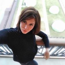 Dariya felhasználói profilja