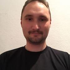 Henkilön Tom käyttäjäprofiili
