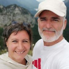 Profil Pengguna Stéphane + Karin