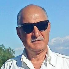 Henkilön M.Antonio käyttäjäprofiili