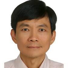 Användarprofil för Jui-Cheng