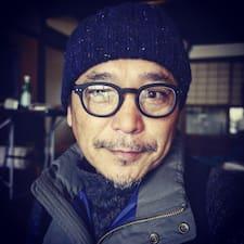 Användarprofil för Takashi