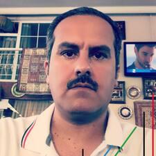 Hussain felhasználói profilja