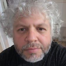 Sergio felhasználói profilja