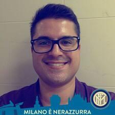 Matteo felhasználói profilja
