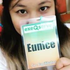 Henkilön Eunice käyttäjäprofiili