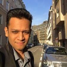 Rishabh felhasználói profilja