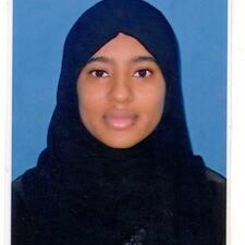 Fadyah felhasználói profilja