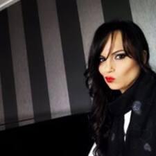 Ángela felhasználói profilja