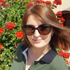 Oksana felhasználói profilja