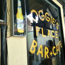 Oggies is the host.