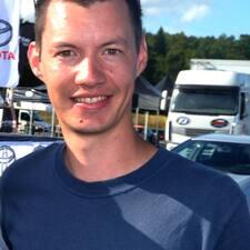Henkilön Christophe käyttäjäprofiili