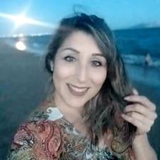 Lizette felhasználói profilja