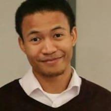 Eliwhuo felhasználói profilja