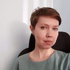 Gebruikersprofiel Ирина