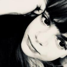 Monika felhasználói profilja