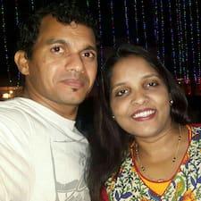 Henkilön Sharmila & Mukesh käyttäjäprofiili