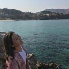 Jinyeong felhasználói profilja