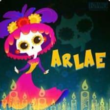 Arlae felhasználói profilja