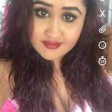 Profil utilisateur de Anisha