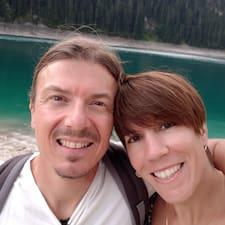 Kostas & Dominique felhasználói profilja