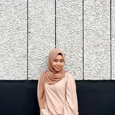 Profil utilisateur de Arinah