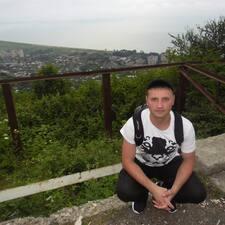 Användarprofil för Олег