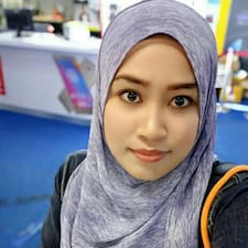 Syaza User Profile