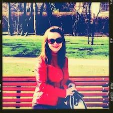 Darya felhasználói profilja
