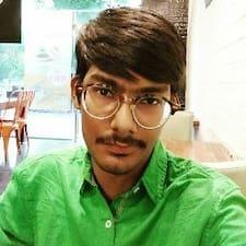 Rishab felhasználói profilja